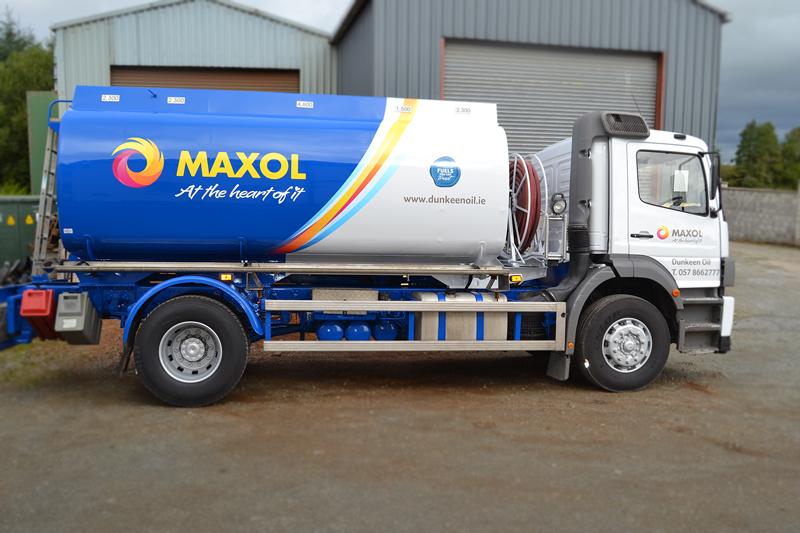 Maxol Fleet Branding