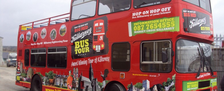 Killarney Open Top Bus Tours