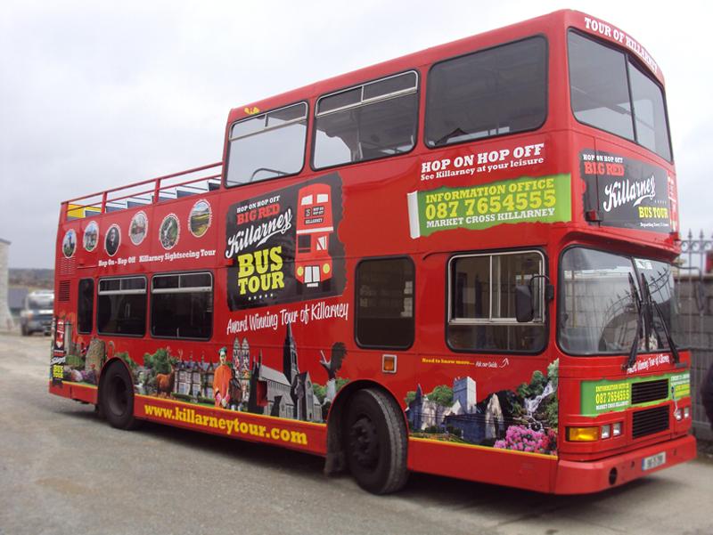 Killarney Open Top Bus Tours