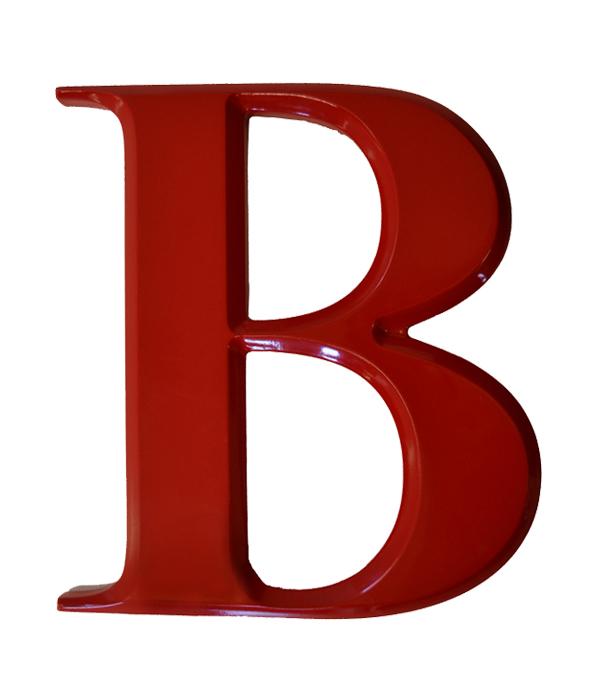 Bevelled Raised Letters