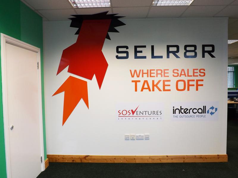 Selr8r Interior Signage