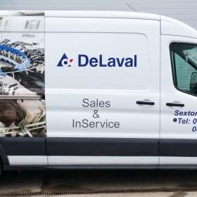 De Laval Vehicle Signage