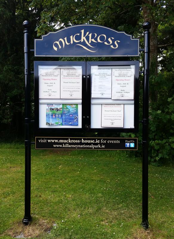 Exterior Information Signs