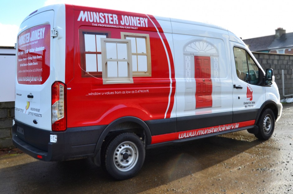Munster Joinery Van