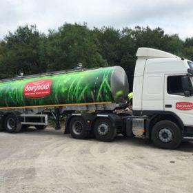 Dairygold Tanker Wrap