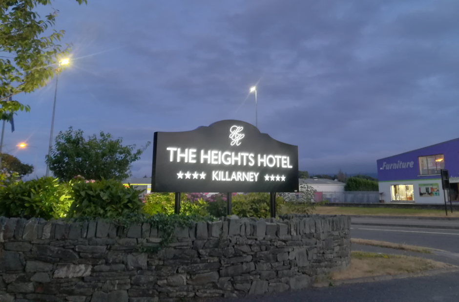 Killarney Heights LED lit Signage