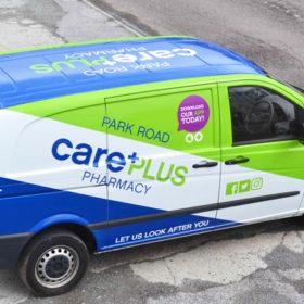 CarePlus Pharmacy Van Wrap