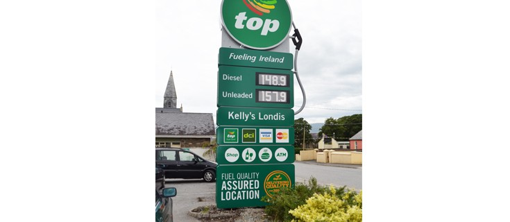 Top Oil Petrol Totem