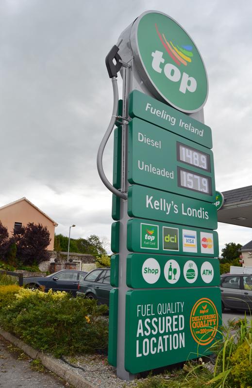 Top Oil Petrol Totem