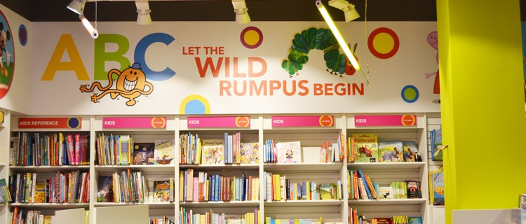 Easons Interior Signage