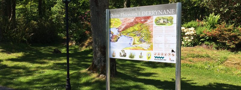 Outdoor Information Signs
