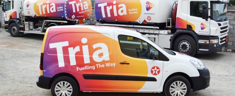 Tria Oil Fleet Vehicles