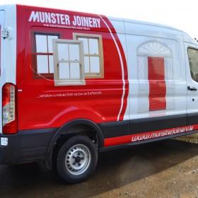 Munster Joinery Van