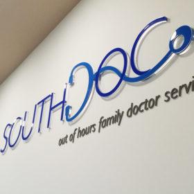 Southdoc Acrylic Signage