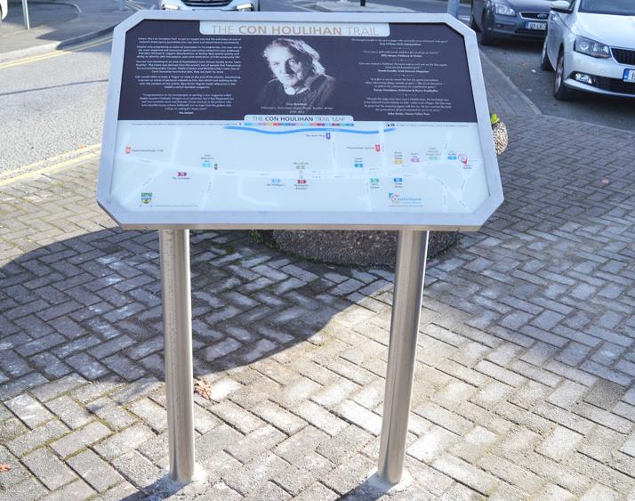 Pedestal Sign